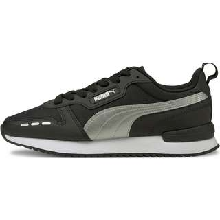 PUMA R78 Sneaker Damen puma black-silver