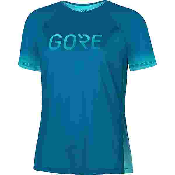 GORE® WEAR Devotion Funktionsshirt Damen sphere blue-scuba blue
