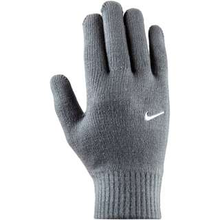 Nike Swoosh Knit 2.0 Fingerhandschuhe grey-white
