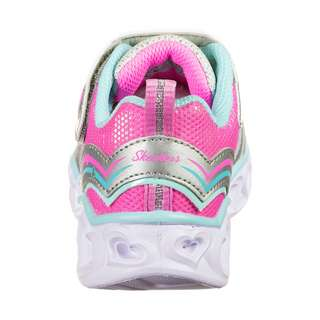 Skechers Heart Lights Love Spark Sneaker Kinder bunt / weiß