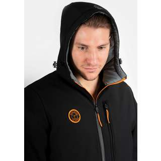 Svalbard Islands Pyramiden Parka Herren black