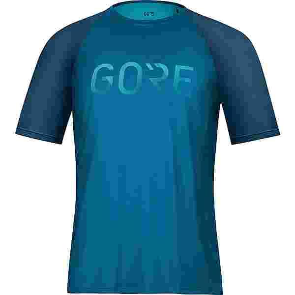 GORE® WEAR Devotion Funktionsshirt Herren sphere blue-scuba blue
