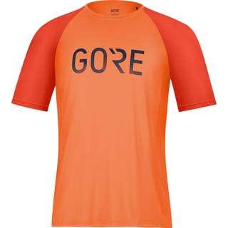 GORE® WEAR Devotion Funktionsshirt Herren fireball-orbit blue