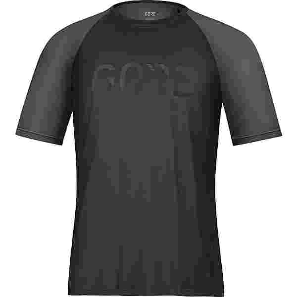 GORE® WEAR Devotion Funktionsshirt Herren black-terra grey