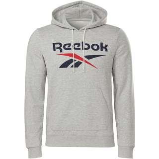 Reebok Identity Classic Hoodie Herren medium grey heather