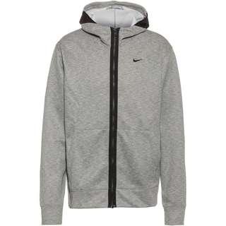 Nike Spotlight Sweatjacke Herren dark grey heather-black