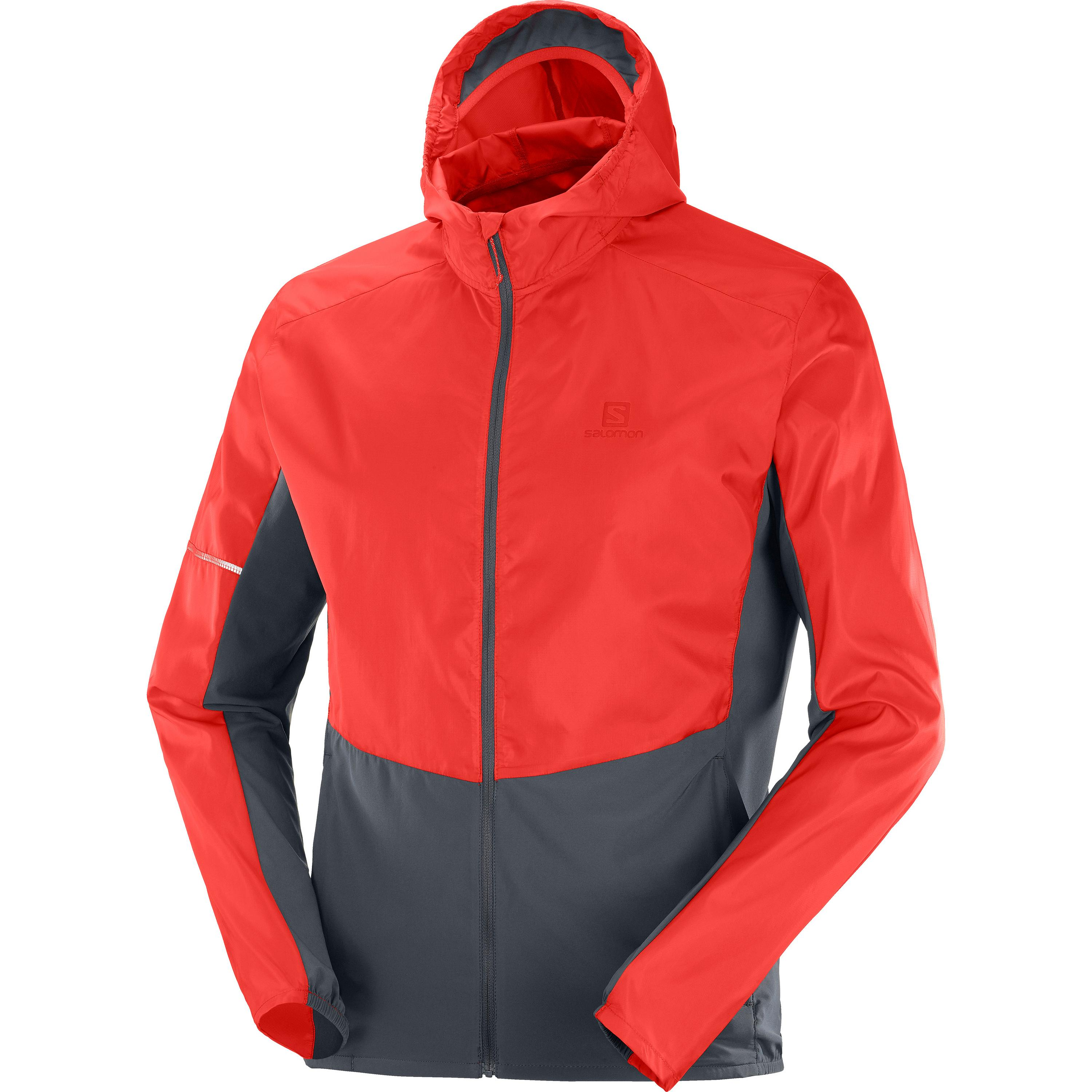 salomon -  AGILE Windbreaker Herren