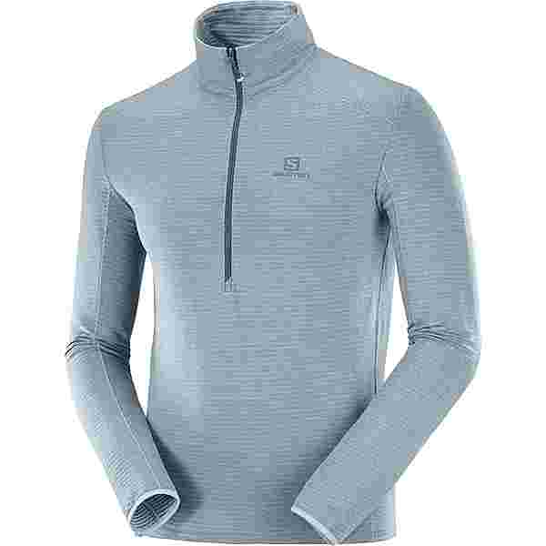 Salomon OUTLINE Fleeceshirt Herren ashley blue