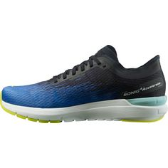 Salomon Sonic 4 Accelerate Laufschuhe Herren palace blue-wht-evening primrose