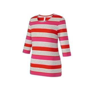 JOY sportswear ANNI T-Shirt Damen salsa red stripes