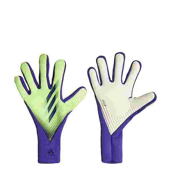 adidas X 20 Pro Torwarthandschuhe Outdoorhandschuhe Herren Signal Green / Energy Ink / Solar Green
