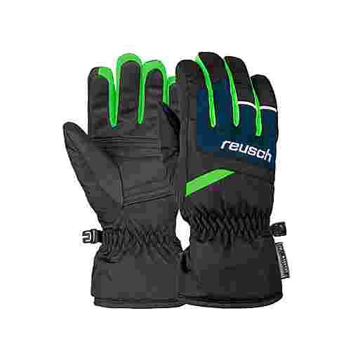 Reusch Bennet R-TEX® XT Junior Skihandschuhe blck/dres blue/neon green