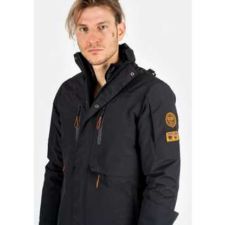 Svalbard Islands Spits N1 Outdoorjacke Herren black
