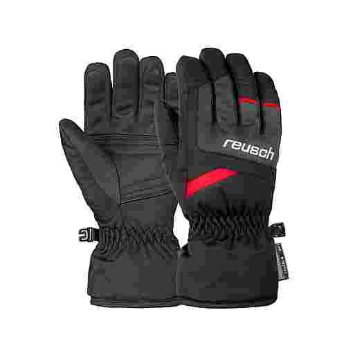 Reusch Bennet R-TEX® XT Junior Skihandschuhe blck/blck melang/fire red