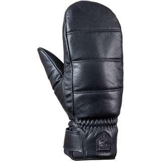 Hestra Alpine Leather Primaloft Mitt Skihandschuhe black