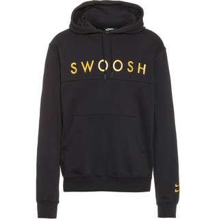 Nike NSW Swoosh Hoodie Herren black-gold foil
