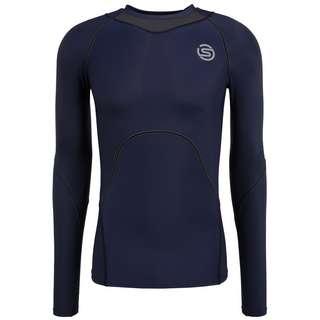 Skins S3 Longsleeve Funktionsshirt Herren Navy Blue
