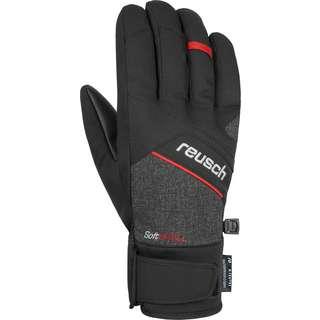 Reusch Luke R-TEX® XT Skihandschuhe blck/blck melang/fire red