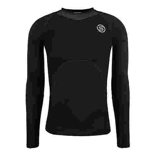 Skins S3 Longsleeve Kompressionsshirt Herren Black