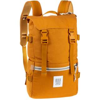 Topo Designs Rucksack Rover Pack Daypack yellow canvas