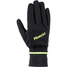 Roeckl GORE-TEX® WS Bike Fahrradhandschuhe schwarz-gelb