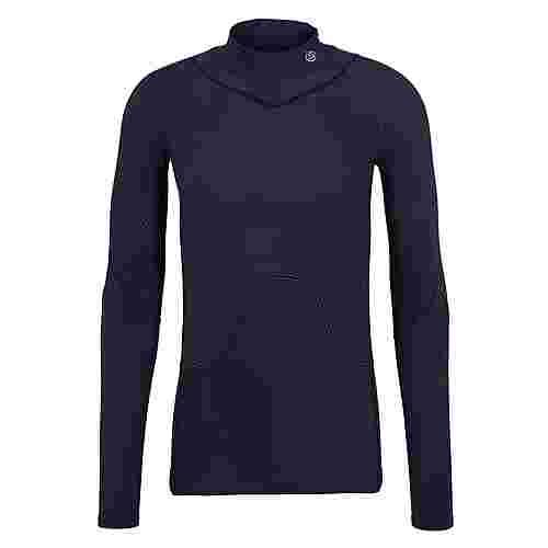 Skins S3 Thermal Longsleeve Kompressionsshirt Herren Navy blue