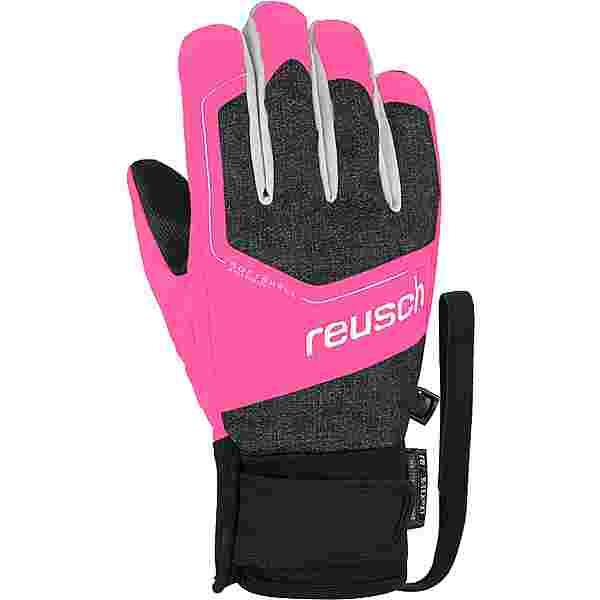Reusch Torby R-TEX® XT Junior Skihandschuhe black/ knockout pink