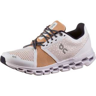ON Cloudstratus Laufschuhe Damen white-almond