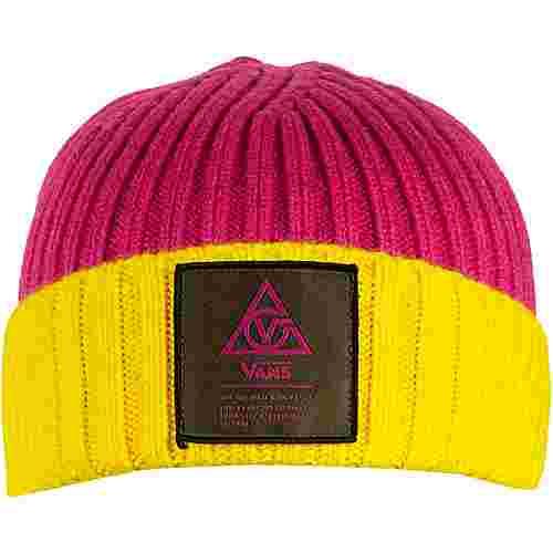 Vans 66 Supply Beanie Damen pink/gelb