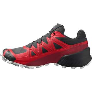 Salomon Speedcross 5 Trailrunning Schuhe Herren goji berry-white-black