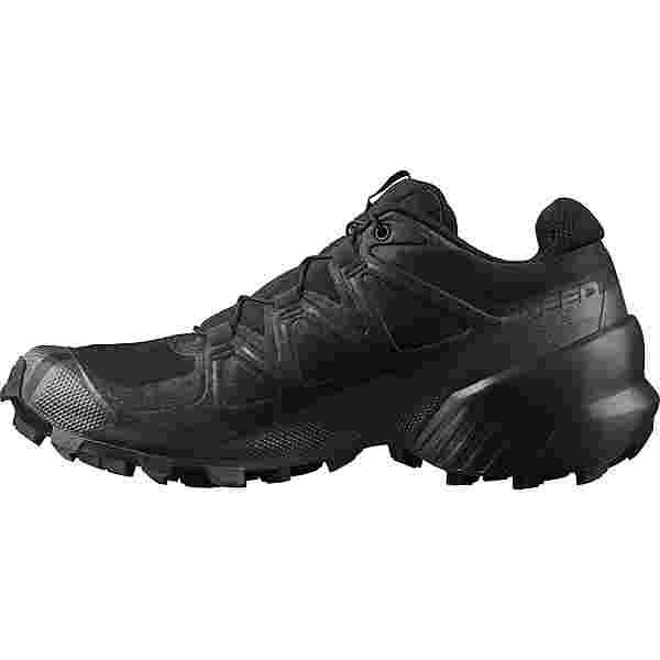 Salomon Speedcross 5 Trailrunning Schuhe Damen black-black-phantom