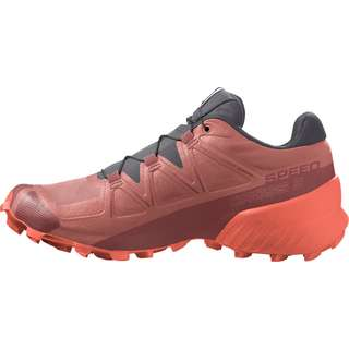 Salomon Speedcross 5 Trailrunning Schuhe Damen brick dust-persimon-persimon