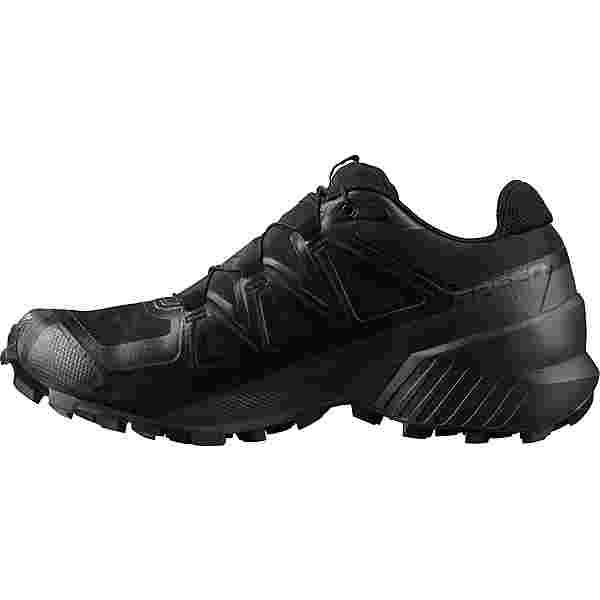 Salomon GTX Speedcross 5 Trailrunning Schuhe Herren black-black-phantom