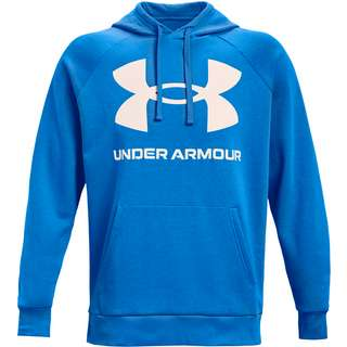Under Armour Rival Hoodie Herren brilliant blue-onyx white