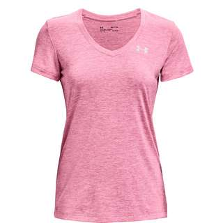 Under Armour Tech SSV Twist Funktionsshirt Damen pink