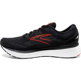 Brooks Glycerin 19 Laufschuhe Herren black-grey-red clay