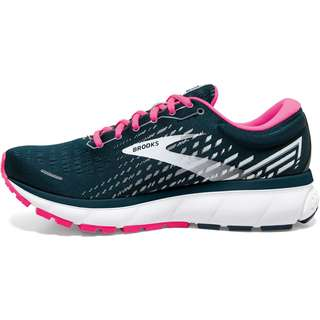 Brooks Ghost 13 Laufschuhe Damen reflective pond-pink-ice