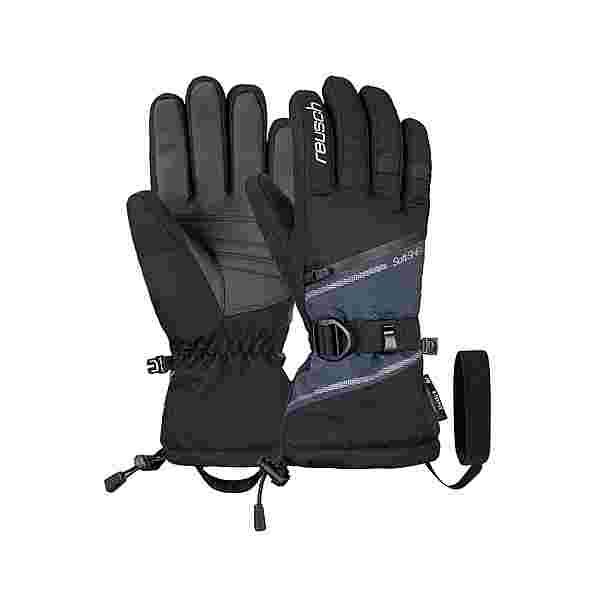 Reusch Demi R-TEX® XT Skihandschuhe black/dress blue melange