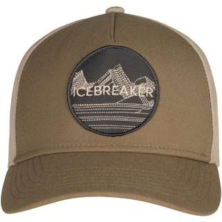 Icebreaker Merino GRAPHIC Cap flint/british tan