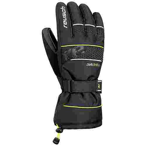 Reusch Connor R-TEX® XT Skihandschuhe black / neon yellow