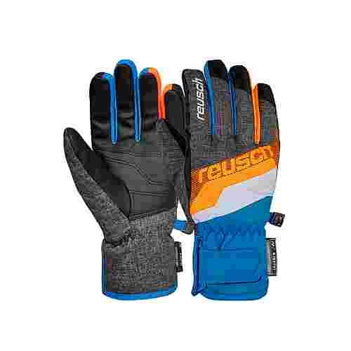 Reusch Dario R-TEX® XT Junior Skihandschuhe Kinder blck mlang/brill blue/sho
