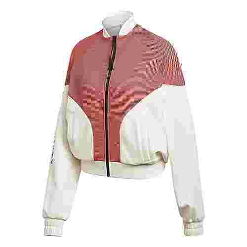 adidas Karlie Kloss Cover-Up Jacke Tanktop Damen Off White / Black