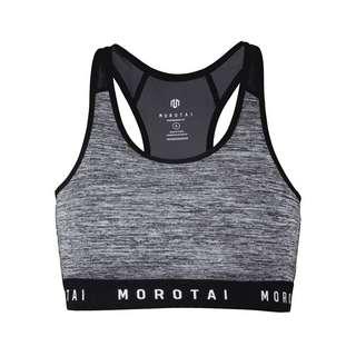 MOROTAI Athletic Mesh Bra BH Damen Grey Melange