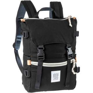 Topo Designs Rucksack Rover Pack Daypack black canvas