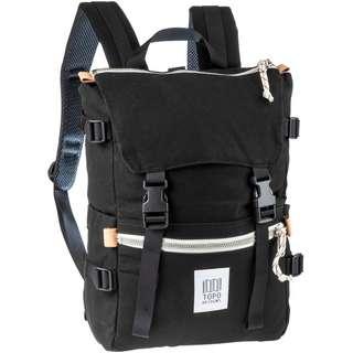 Topo Designs Rucksack Rover Pack Daypack black canvas