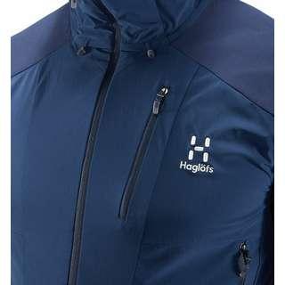 Haglöfs Skarn Hybrid Jacket Softshelljacke Herren Tarn blue