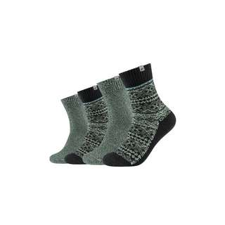 Skechers Sneakersocken burnt olive melange