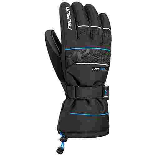 Reusch Connor R-TEX® XT Skihandschuhe black / brilliant blue