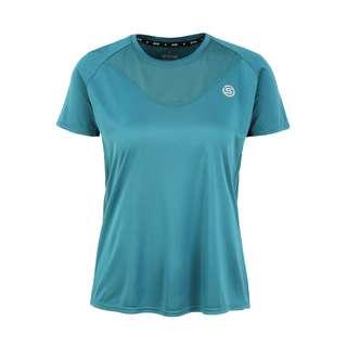 Skins S3 Short Sleeve Top Funktionsshirt Damen Teal