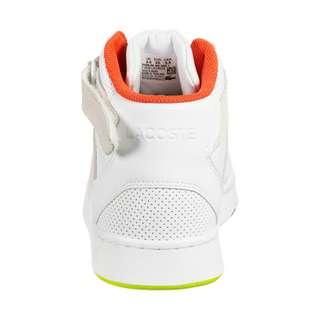 Lacoste Tramline Mid 120 Sneaker Kinder weiß / gelb